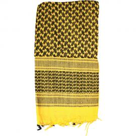 Shemagh Head Wrap Yellow / BLK