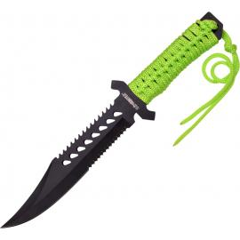 Fixed Blade Green Cord