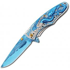 Mermaid Linerlock Blue A / O
