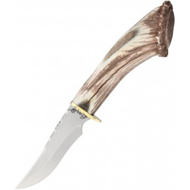Elk Antler Fixed Blade