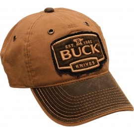 Logo Cap Rust Brown
