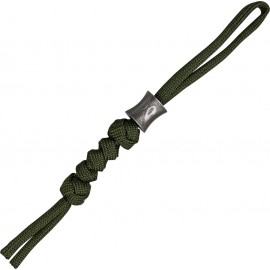 Concave Bead with Lanyard
