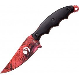 Fixed Blade Pink Camo