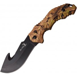 Guthook Fixed Blade Camo