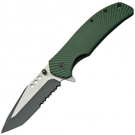 Military Linerlock Green A / O