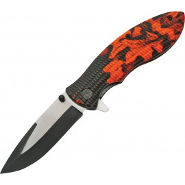 Linerlock Red Camo
