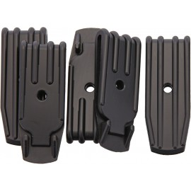 Plastic Belt Clip 1 Hole 5 Pk