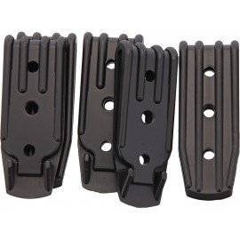 Plastic Belt Clip 3 Hole 5 Pk